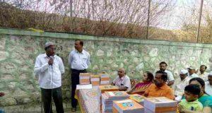 Adv M N Deshmukh form of Shriram Shakti, social work