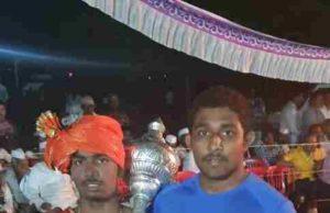 Rajur Shubham Landage wrestling centre became a silver medalist