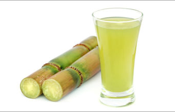 sugarcane juice in the summer