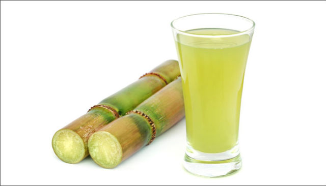 sugarcane juice in the summer