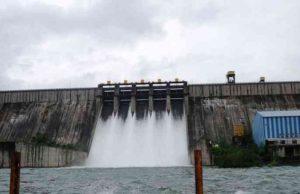 Akole pravara River flood