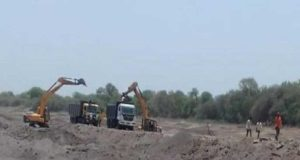 Shrirampur Action against sand smugglers
