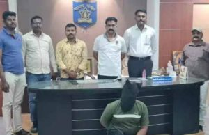 Ahmednagar accused was admitted to the hospital to avoid arrest