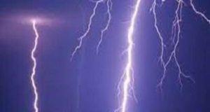 Ahmednagar News lightning strike killed one person on the spot