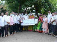 50 lakh award announced for loni Budruk Gram Panchayat