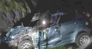 Accident Nevasa Young man Of Swift Car