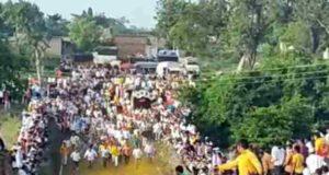 Ahmednagar News Bullock Cart Race in Parner