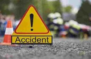 Sangamner Two-wheeler and bus accident on Pune-Nashik highway
