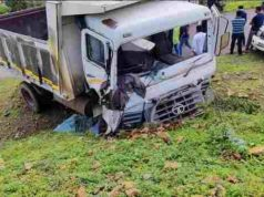 Accident Young woman dies after being hit by a dumper