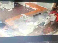 Ahmednagar News Robbery by firing on Patsanstha all day long