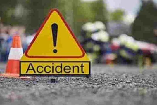 Ayashar Tempo and motorcycle Accident two Death