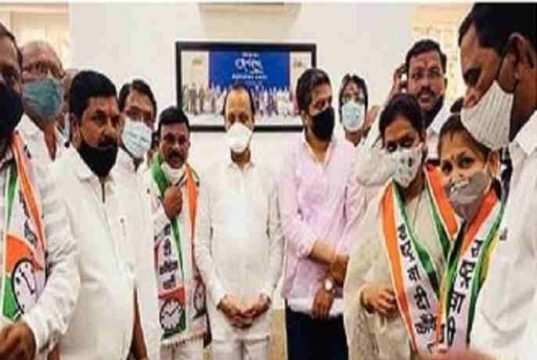 Namdeo Raut entry in Ncp