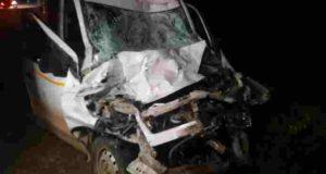 Shrigonda Truck and Car Accident One death