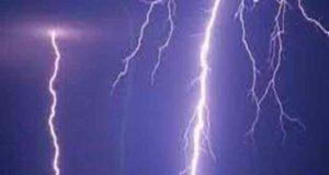 Ahmednagar News One person was killed in a lightning strike