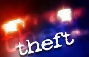 Furniture shop theft in Sangamner taluka