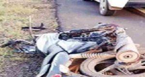 Takali dhokeshvar Pickup Motorcycle Accident
