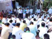 ahmednagar Inflation erupts Central government protests news